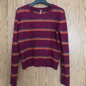 Free People Striped Sweater